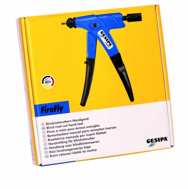 FireFly (Remachadora manual para tuercas remachables) - Remachadora de tuercas manual