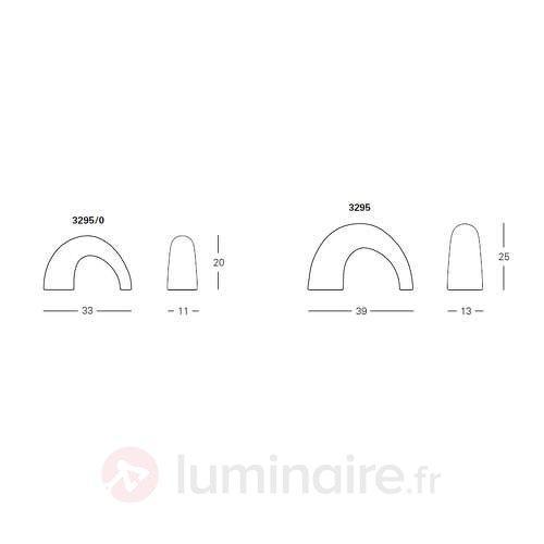 Lampe à poser design Fontana Arte THOR - Lampes à poser designs