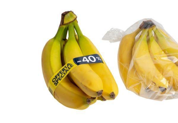 Gemüse und Obst banderolieren -