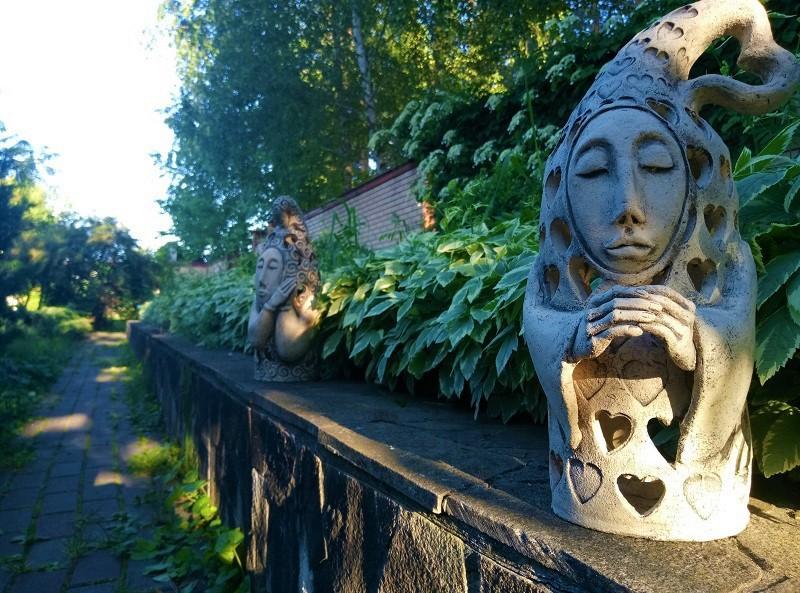 Садовые фигуры - Ландшафтная керамика из шамота