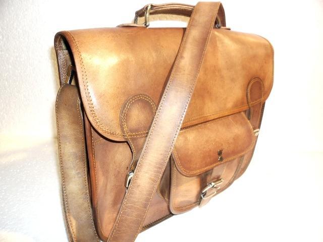 Leather Laptop Bag - Leather Laptop Messenger Bag