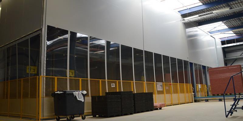 Industriegordijn - Tochtwerende deuren