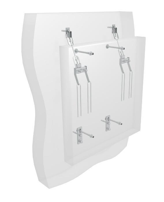 MOSO® panel hanger -