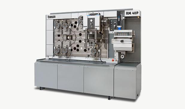 Multi-slide machine - RM 40P - Powerful multi-slide machine RM 40P with separate 200 kN press module