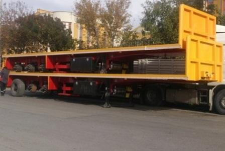 Flatbed Semitrailer - Flatbed Semitrailer for containers