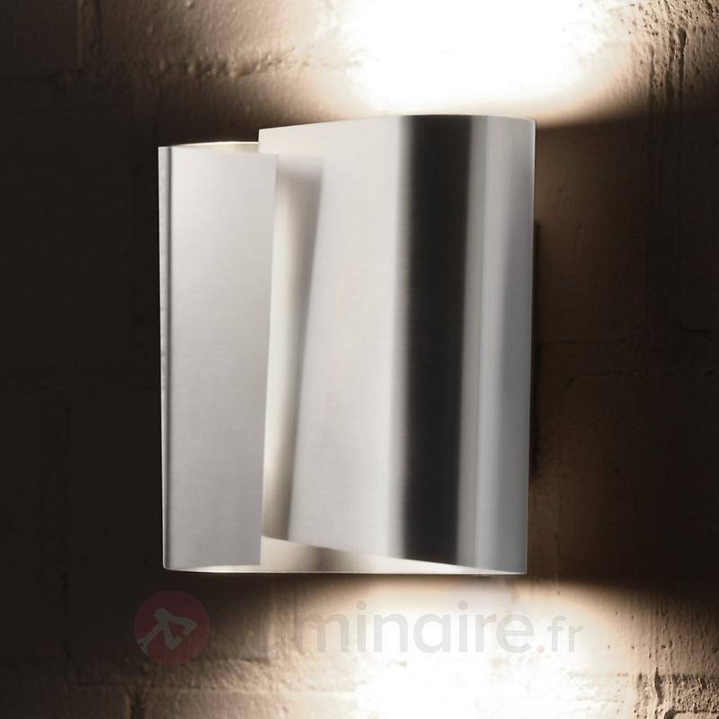 Applique en acier inox FILIA L - Appliques chromées/nickel/inox