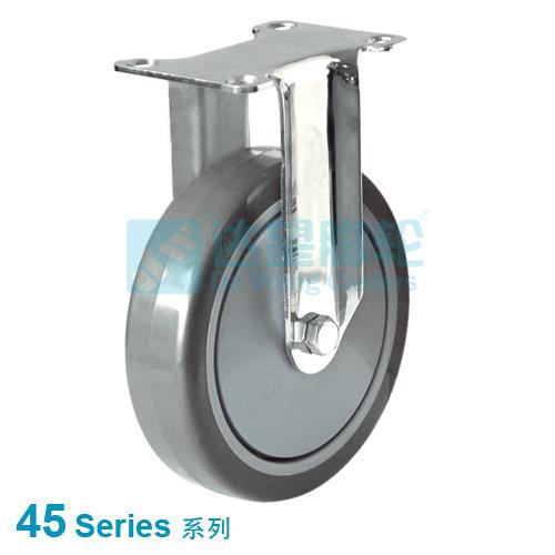 Stainless Steel Medical Castor, fixed Castor, loading 110kgs