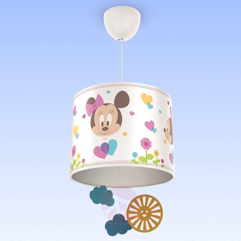 Sweet Minnie Mouse hanging light for children - Pendant Lighting
