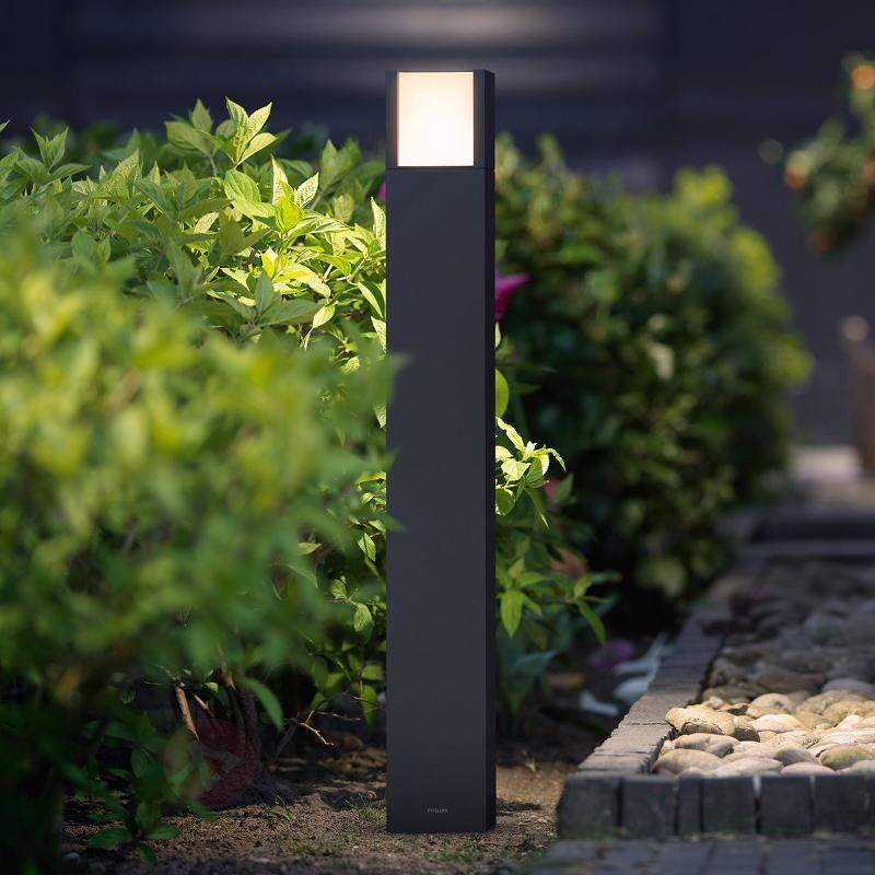 Borne lumineuse LED résistante Arbour - Bornes lumineuses LED
