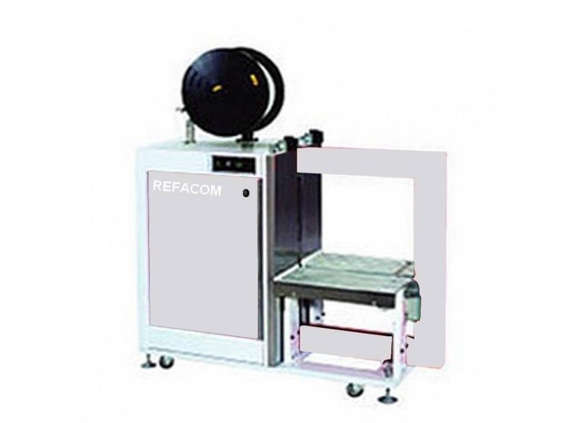 Halfautomatische omsnoeringsmachines Record with Table - Omsnoeringsmachines voor pakken en kisten