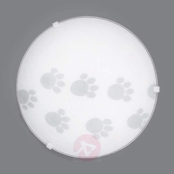 Refined ceiling lamp Pawprints - Ceiling Lights