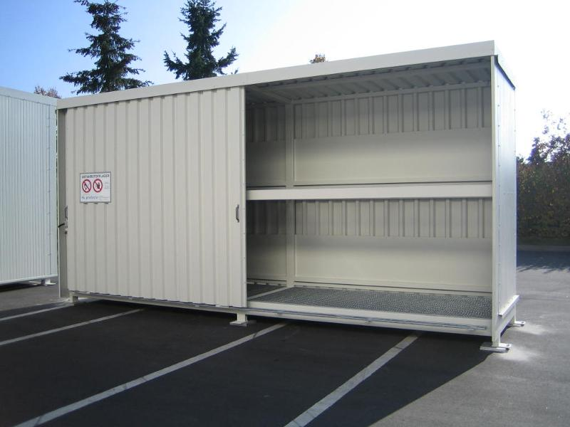 Mit DIBt-Zulassung: Regalcontainer Typ FS 14-23.2 - null