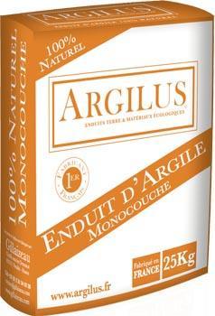 Enduit argile monocouche - Enduit à base d'argile pour l'intérieur