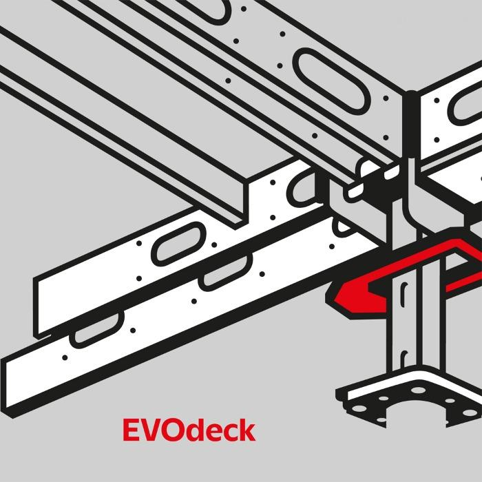 EVODECK panel slab formwork - EVODECK system is a universal and lightweight element slab formwork system made.