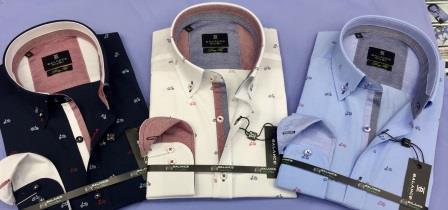 Printed men's shirt production - Wholesale men's shirts