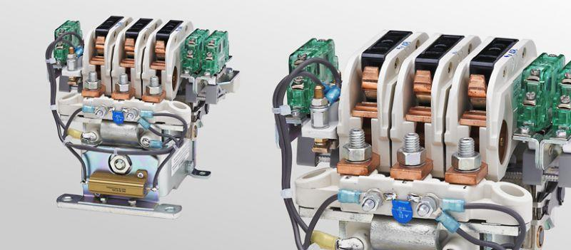 Cam contactors C152/C153/C154 - Multi-pole cam contactors for voltages up to 450 V