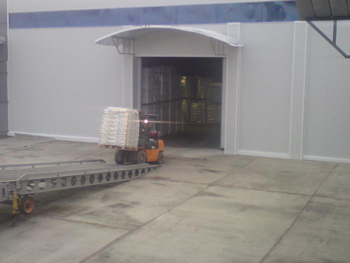 Складское хранение грузов, услуги  3PL - Ответственное хранение грузов на терминале