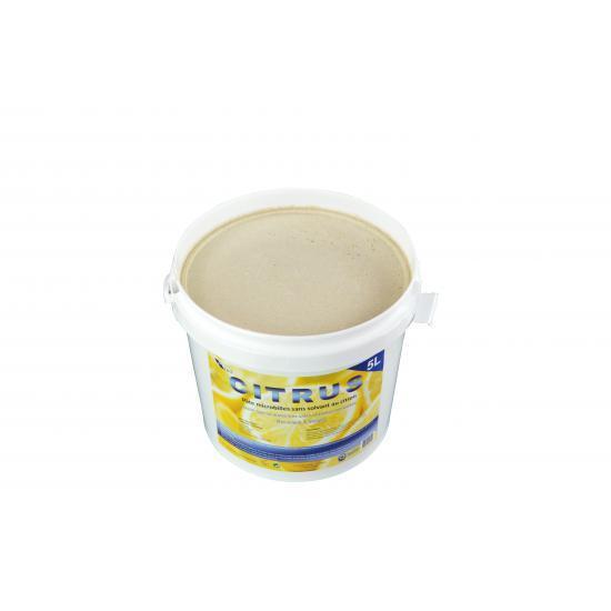 Savon pâte microbilles végétales citron seau 5 litres... - Hygiène et entretien
