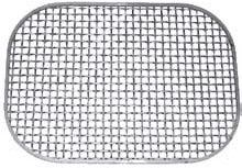 Grilles rectangulaires ou rondes en inox - null