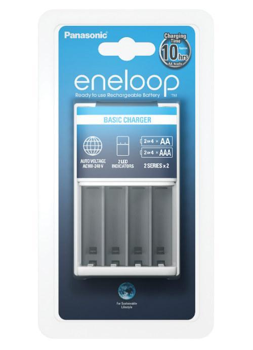 Caricabatterie portatile di base Eneloop
