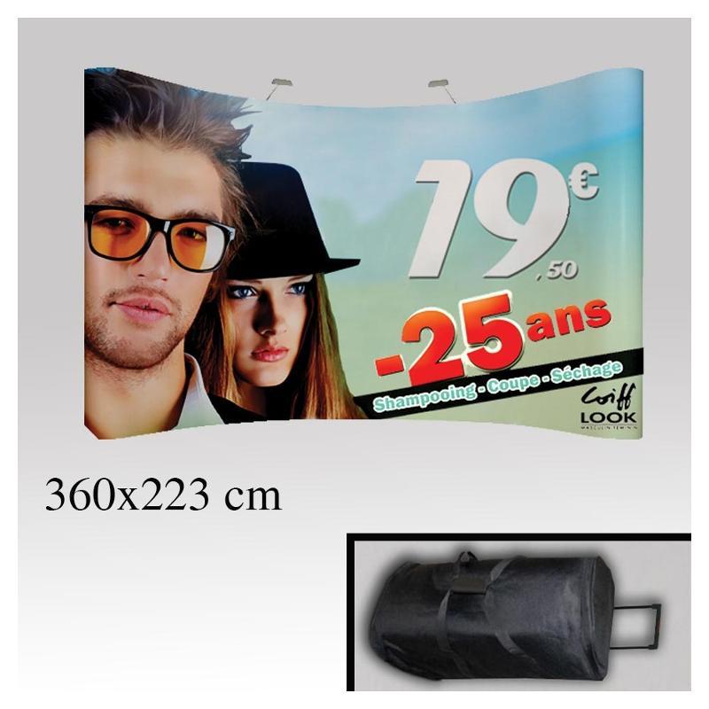 Stand pop up PVC magnétique - Pop up et stand publicitaire