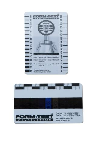 Rissbreiten- Vergleichsmaßstäbe - Artikel-ID: T02011