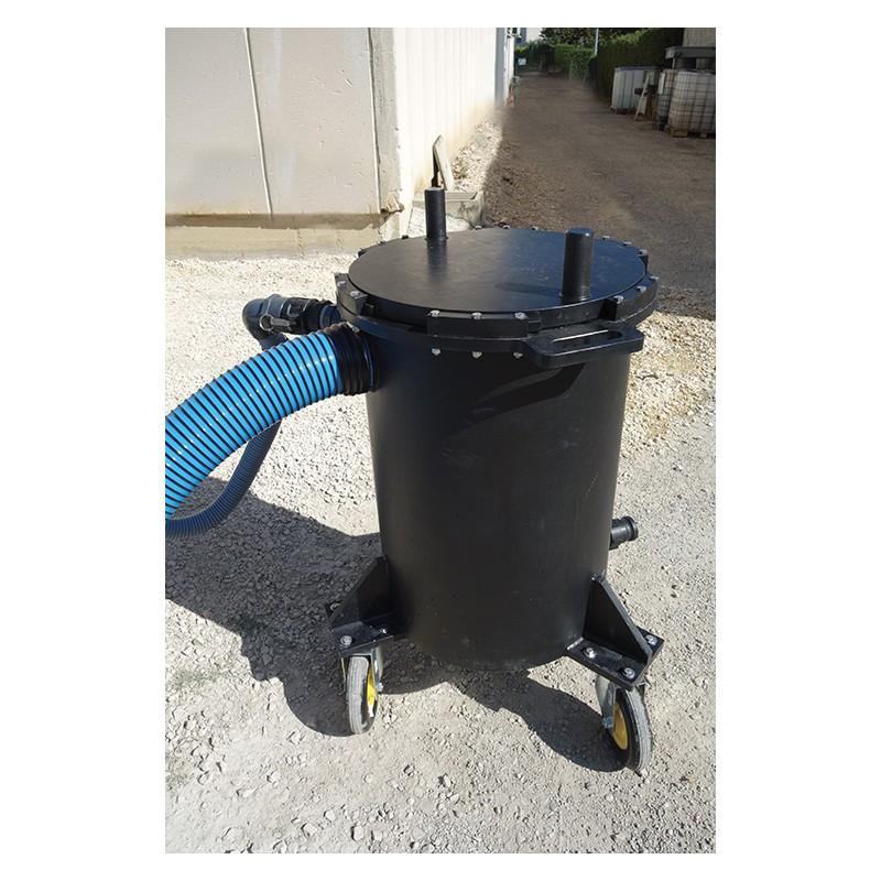 Filtres Mobiles Pour Eaux Polluées Aux Hydrocarbures - Captation des hydrocarbures