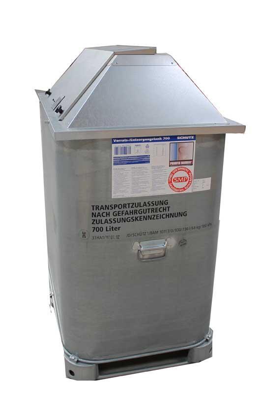 Réservoirs pour gasoil, GNR et huiles  - Cuves acier double paroi pour le transport et le stockage de fioul, gasoil, GNR