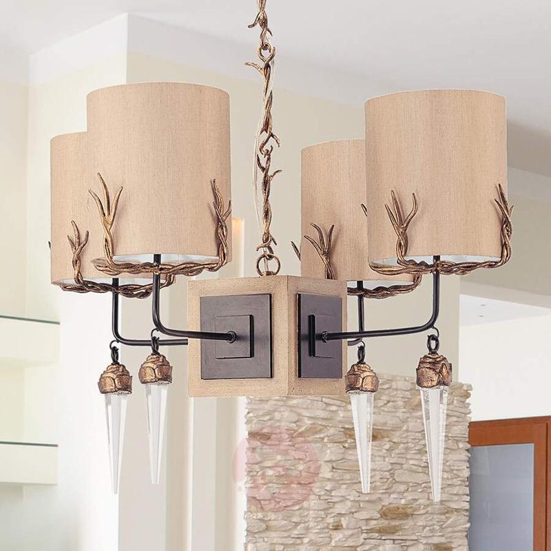 Diego Hanging Light Four Bulbs - Pendant Lighting