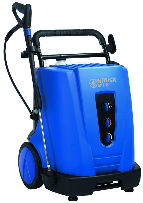 NILFISK MH 1C - Nettoyeurs mobile eau chaude petit débit - Débit 600 l/h. Usage régulier