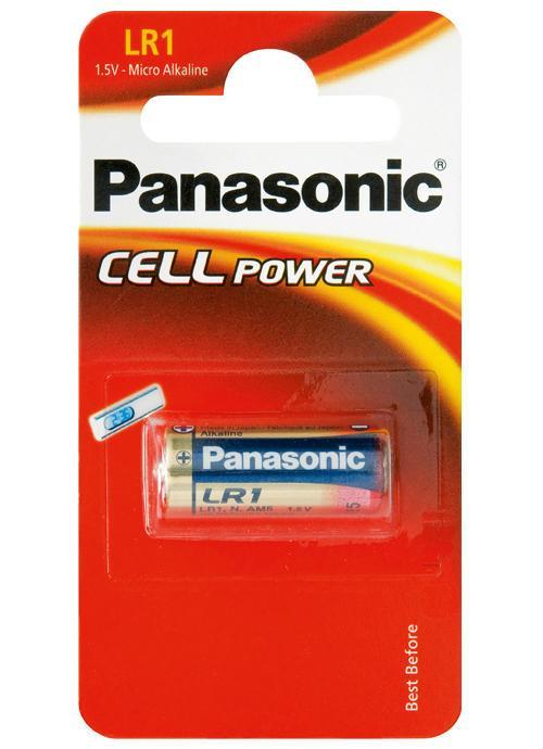 Microbatterie alcaline LR1