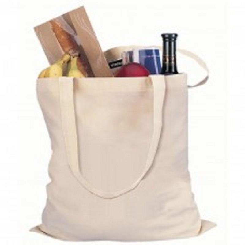 ECO Natural Cotton Shopping Bag - ECO Natural Cotton Shopping Bag