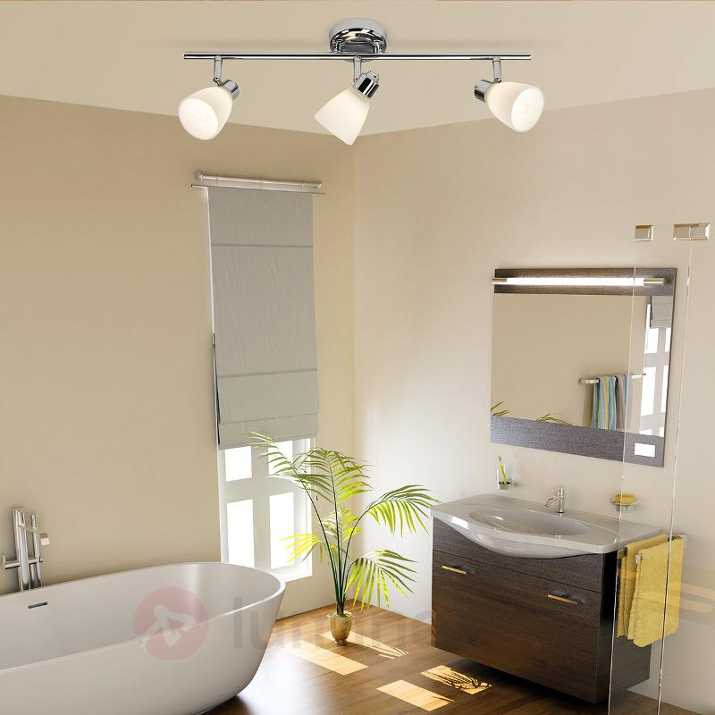 Plafonnier à trois lampes Kensington avec IP44 - Salle de bains