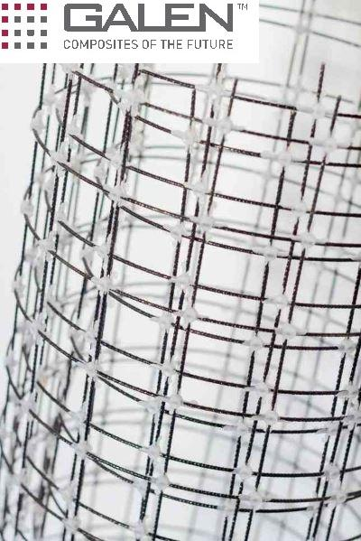 Composite mesh - Compoaite mesh from basaltfiber rods Rockmesh