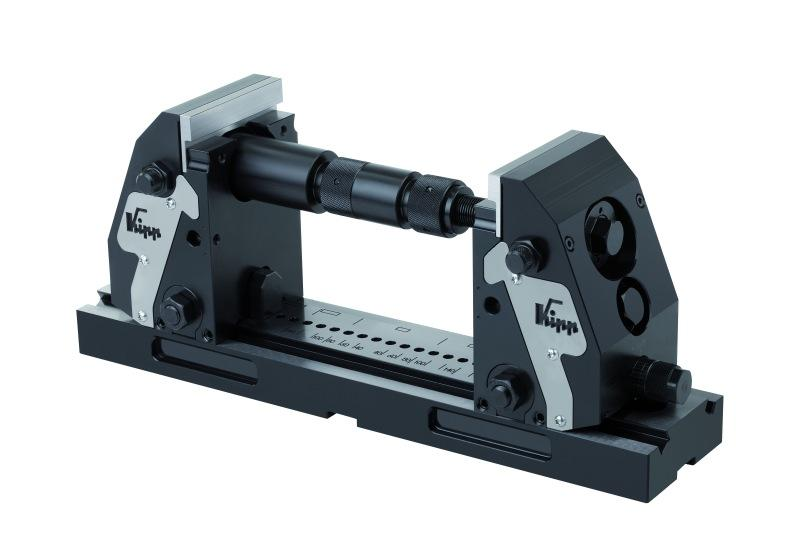 5-axis compact clamping system - New clamping technology by 5-axis machining