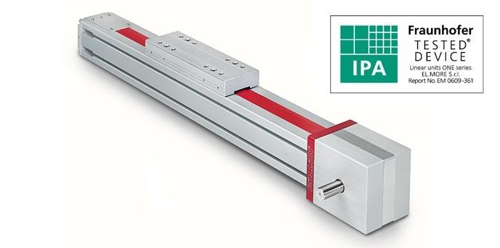 Clean Room System - Belt driven linear actuators for Clean Rooms