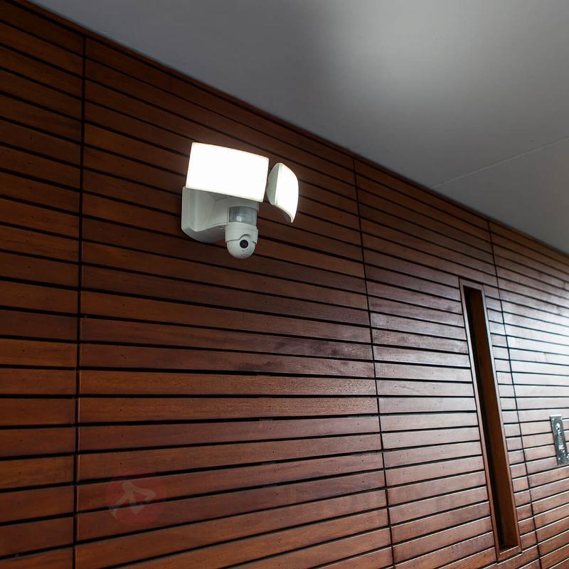 Applique d'extérieur LED Libra Cam avec caméra - Appliques d'extérieur avec détecteur