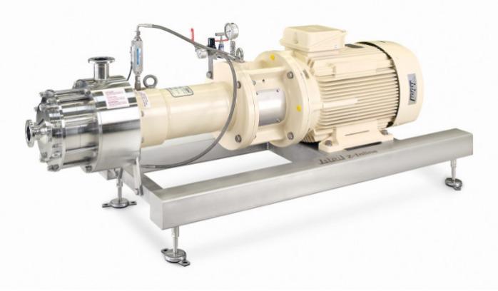 Inline-homogenisator YSTRAL Z-Inline dispergeringsenhed - Conti-TDS-teknologien er afstemt til kravene i levnedsmiddelindustrien