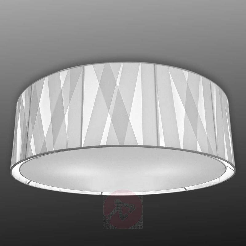 80 cm - fabric ceiling light Cross Lines C80
