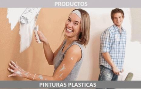 Pinturas Plásticas - pinturas plásticas mates, semi-mates, satinadas y semi-brillantes