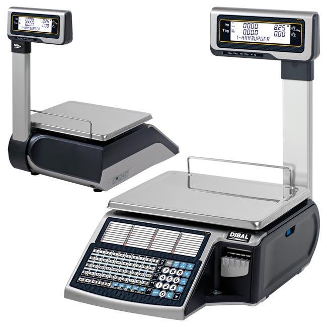 Serie Mistral - Balanzas electrónicas con impresora de tickets o etiquetas