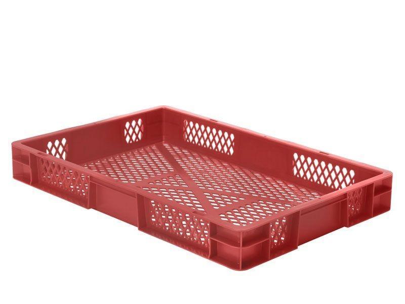 Stacking box: Dina 75 3 - Stacking box: Dina 75 3, 600 x 400 x 75 mm