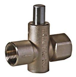 Valves - Manometer push button valve VE2/VE3