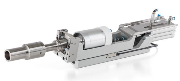 Unidades de avance de soldadura por ultrasonidos AC350, AC45 - Sistemas de potencia ultrasónica para el uso flexible en instalaciones especiale