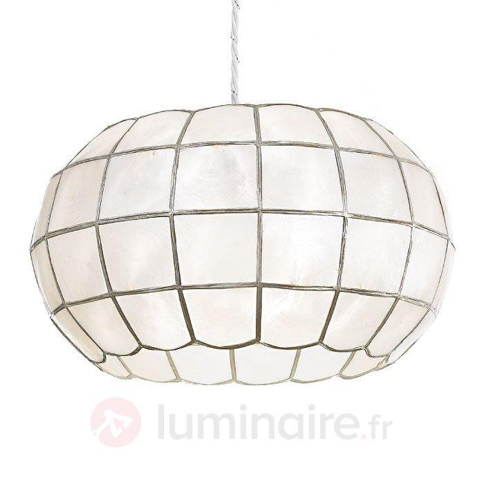 Suspension Tiffany décorative Sienna - Suspensions style Tiffany