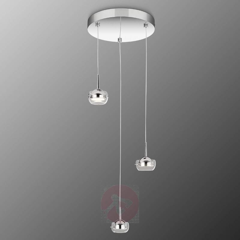 Cypress LED Hanging Light Three Bulbs - Pendant Lighting