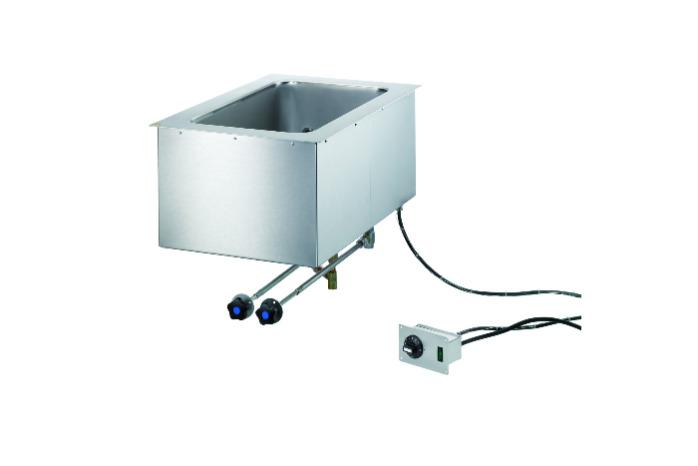 Built-in Bain-marie - with level control