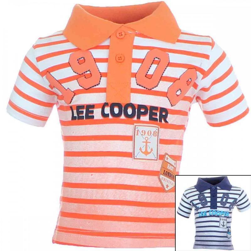 10x Polos manches courtes Lee cooper du 6 au 14 ans - T-shirt et polo manches courtes