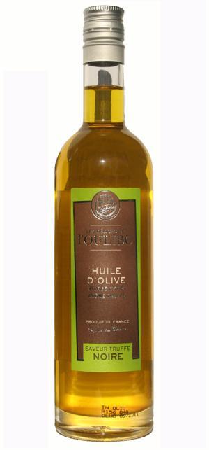 Huile d'olive arôme truffe noire 25CL - Produits oléicoles