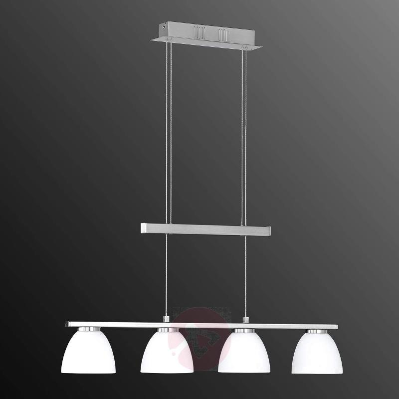 Ava dimmable LED hanging light with 4 bulbs - Pendant Lighting
